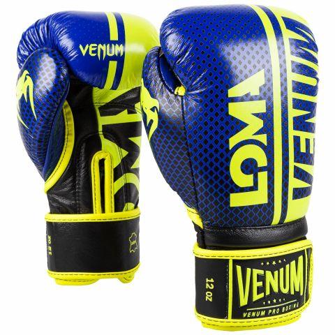 Venum Shield 职业拳击手套 Loma 版本 - 魔术贴 - 黑/黄