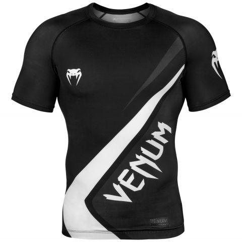Venum Contender 4.0 防磨衣 - 短袖 - 黑/灰-白