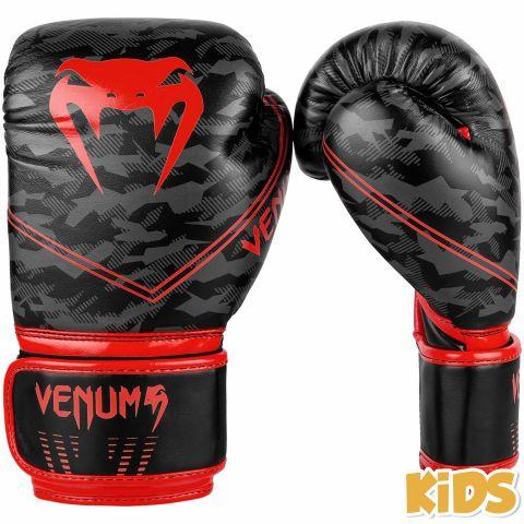 Venum Okinawa 2.0 儿童拳击手套 - 黑/红
