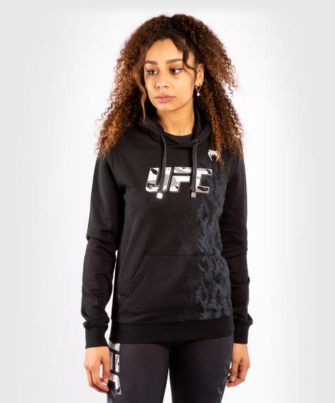 UFC VENUM AUTHENTIC格斗周女装套头卫衣 - 黑色的