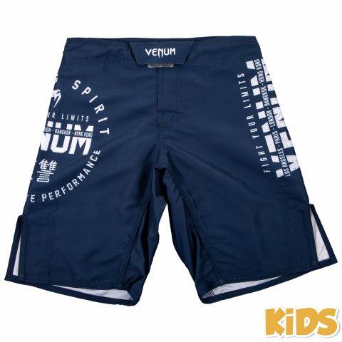 Venum Signature 儿童搏击短裤 -海军蓝