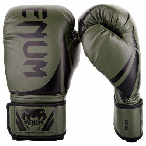 Venum Challenger 2.0 拳击手套 - 卡其/黑