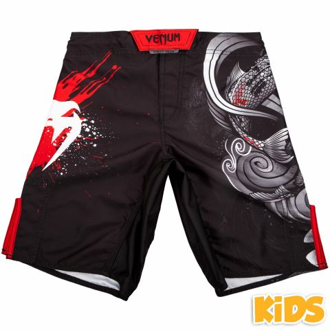Venum Koi 2.0 儿童搏击短裤 - 黑/白