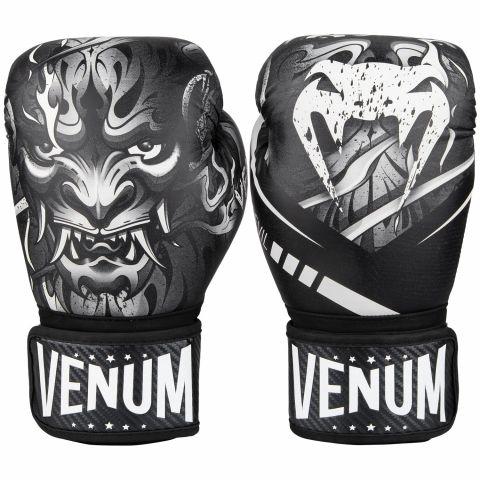 Venum Devil 拳击手套 - 白/黑