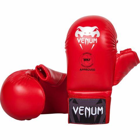 Venum空手道手套-具有拇指保护-由PKF批准