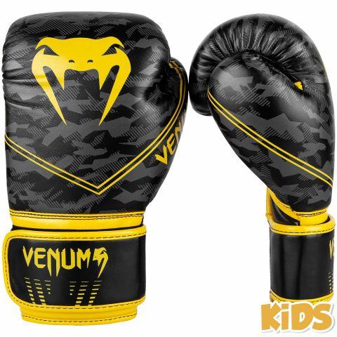 Venum Okinawa 2.0 儿童拳击手套 - 黑/黄 -专属