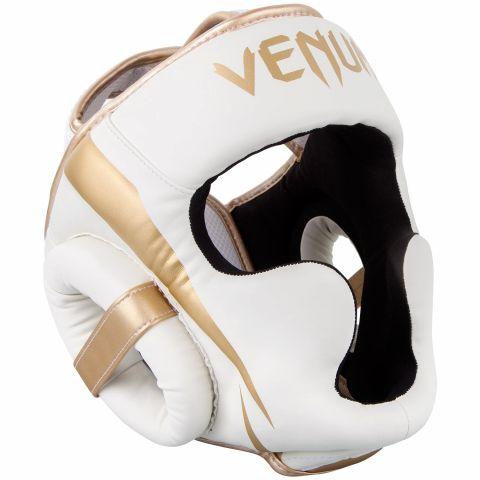 Venum Elite 头具 - 白/金