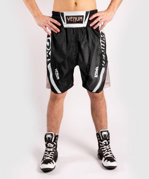 Venum 箭头 Loma签名系列拳击短裤-黑色/白色
