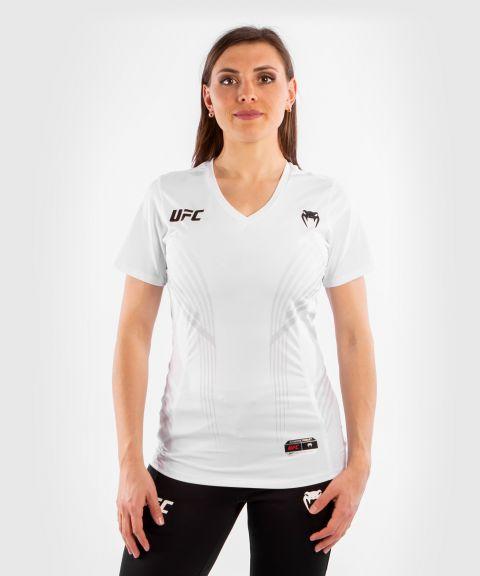 UFC VENUM AUTHENTIC搏击之夜女士出场外套 - 白色的
