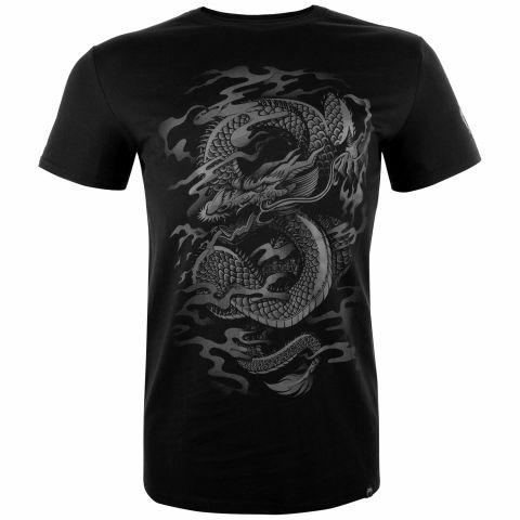 Venum Dragon's Flight T恤 - 黑/黑