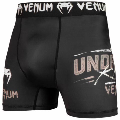 Venum Underground King 压缩短裤 - 黑/沙