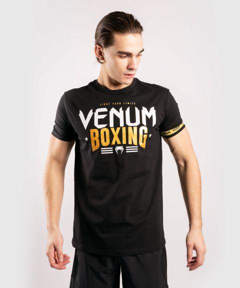 Venum 拳击经典 20 T恤 黑/金