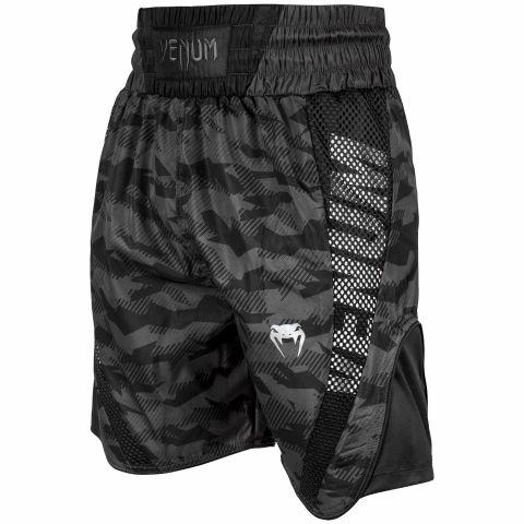 Venum Elite 拳击短裤 - 都市迷彩/黑
