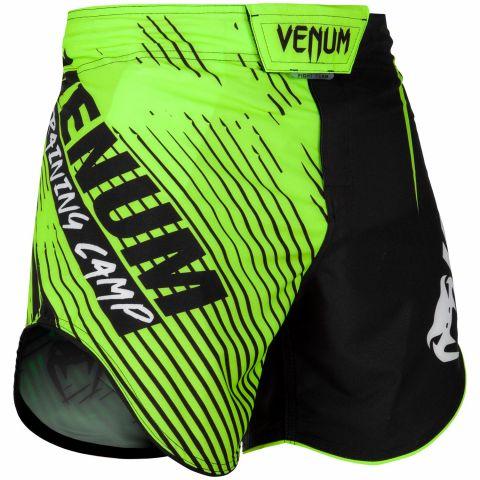 Venum Training Camp 2.0 搏击短裤 - 黑/荧光黄