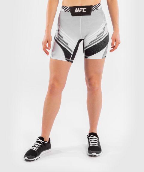 UFC VENUM AUTHENTIC搏击之夜女士VALE TUDO压力短裤-长款 - 白色的