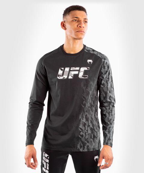 UFC VENUM AUTHENTIC格斗周男装长袖T恤 - 黑色的