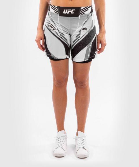 UFC VENUM AUTHENTIC搏击之夜女士短裤-长款 - 白色的