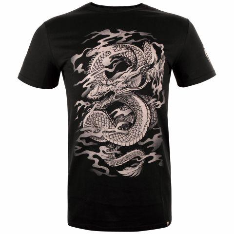 Venum Dragon's Flight T恤 - 黑/沙