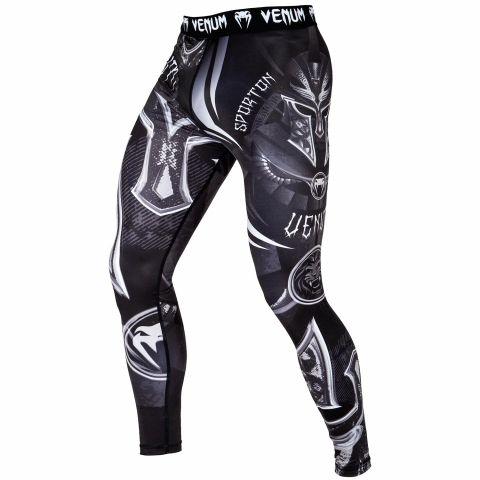 Venum Gladiator 3.0 防磨紧身裤 - 黑/白