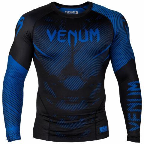 Venum NoGi 2.0 防磨衣 - 长袖 - 黑/蓝