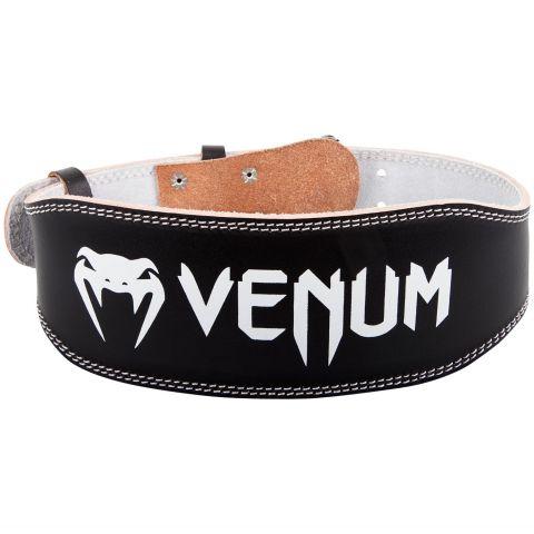 Venum Hyperlift 皮质举重腰带 - 黑
