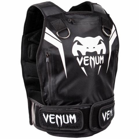 Venum Elite 加重背心 - 黑/白