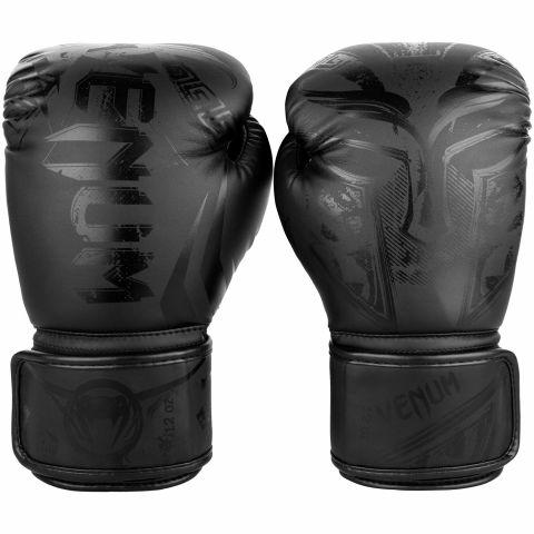 Venum Gladiator 3.0拳击手套-哑光黑