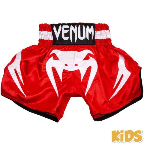 Venum Bangkok Inferno 儿童泰拳短裤 - 红/白