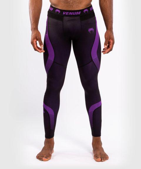 Venum No Gi 3.0 紧身裤 - 黑色/紫色