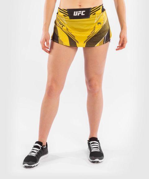 UFC VENUM AUTHENTIC搏击之夜女士短裙 - 黄色的