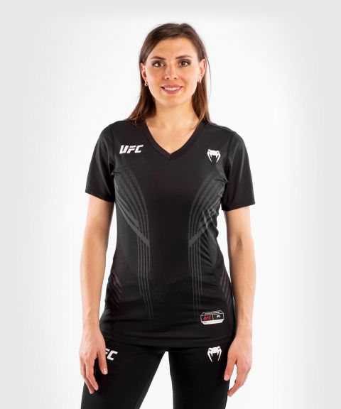 UFC VENUM AUTHENTIC搏击之夜女士出场外套 - 黑色的