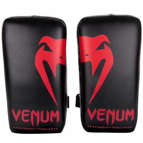 Venum Giant 踢垫 - 黑/红 (一对)