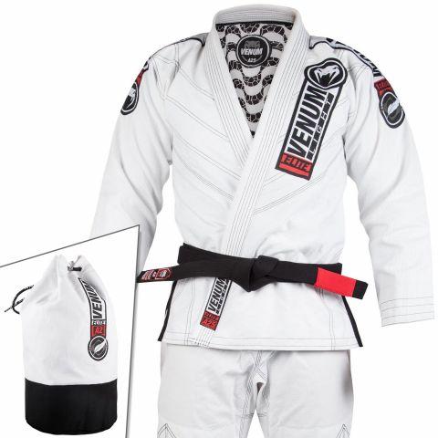 Venum Elite Light 2.0 巴西柔术道服 - (含道服包) - 白
