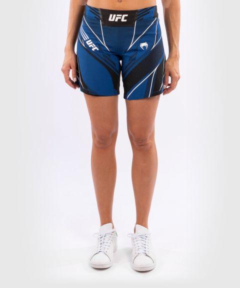 UFC VENUM AUTHENTIC搏击之夜女士短裤-长款 - 蓝色