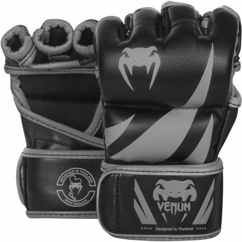 Venum Challenger MMA 手套 - 黑/灰