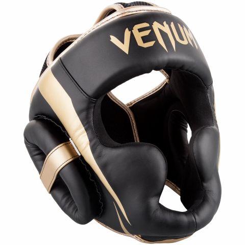 Venum Elite 头具 - 黑/金