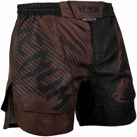 Venum NoGi 2.0 搏击短裤 - 黑/棕