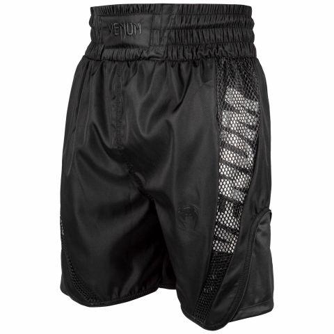 Venum Elite 拳击短裤 - 黑/黑