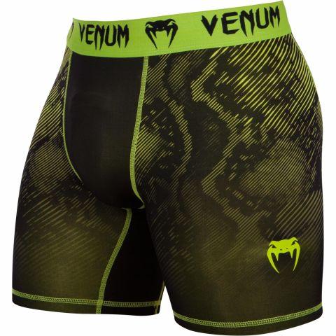 Venum Fusion压缩短裤-黑色/黄色
