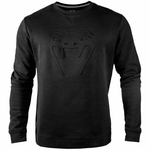 Venum Classic 帽衫 - 黑/黑