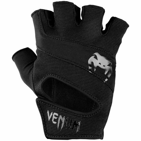 Venum Hyperlift 训练手套 - 黑/黑