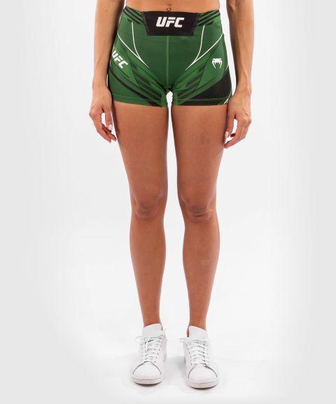 UFC VENUM AUTHENTIC搏击之夜女士VALE TUDO压力短裤-超合身剪裁 - 绿色
