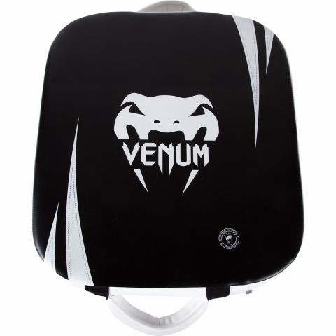 Venum Absolute 方型踢靶 - Skintex皮革 - 黑/冰