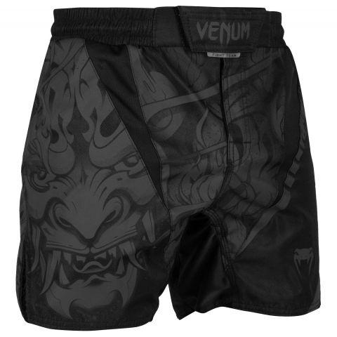 Venum Devil 搏击短裤 - 黑/黑