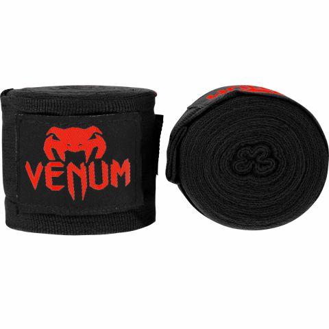 Venum Kontact 拳击裹手带 - 4米 - 黑/红