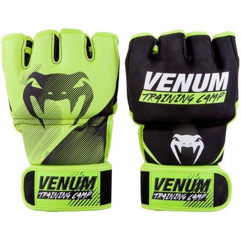 Venum Training Camp 2.0 MMA 手套 - 黑/荧光黄