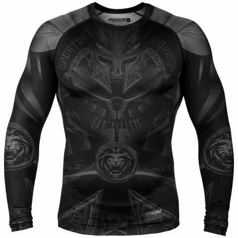 Venum Gladiator 3.0 防磨衣 - 长袖 - 黑/黑