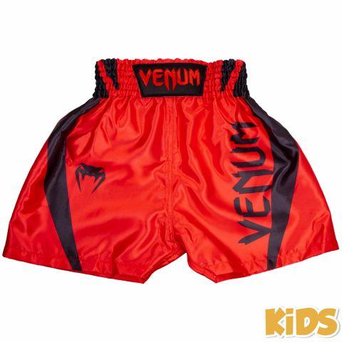 Venum Elite 儿童拳击短裤 - 红/黑
