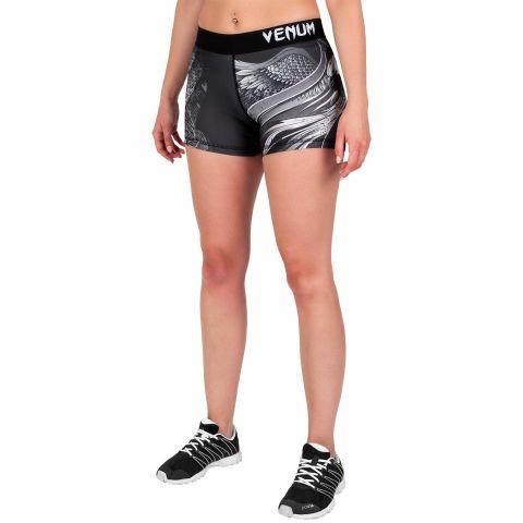 Venum Phoenix 压缩短裤 - 黑/白 - 女款