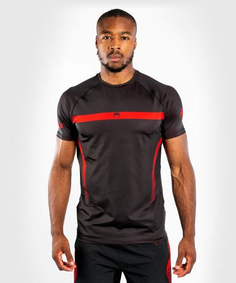 Venum No Gi 3.0 速干T恤 - 黑色/红色